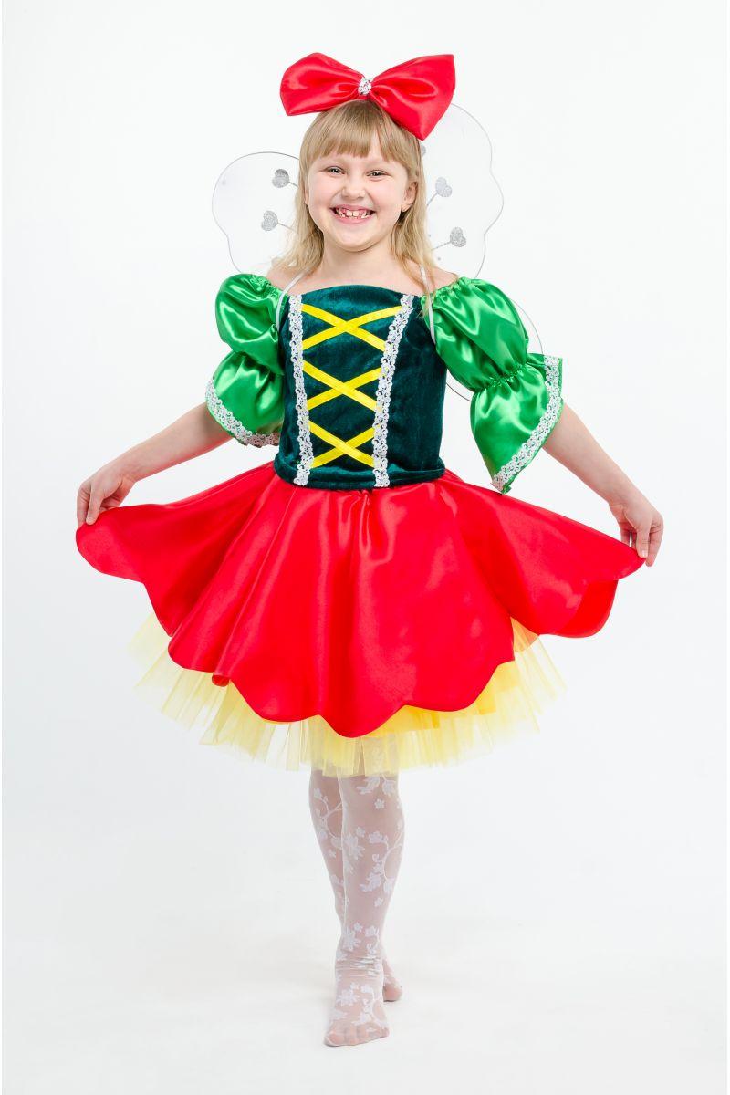 Масочка - «Дюймовочка» карнавальный костюм для девочки / фото №1622