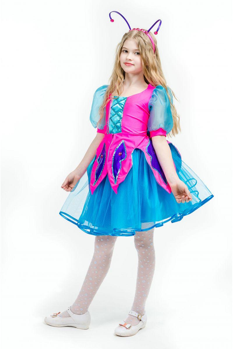 Бабочка «Волшебница» карнавальный костюм для девочки