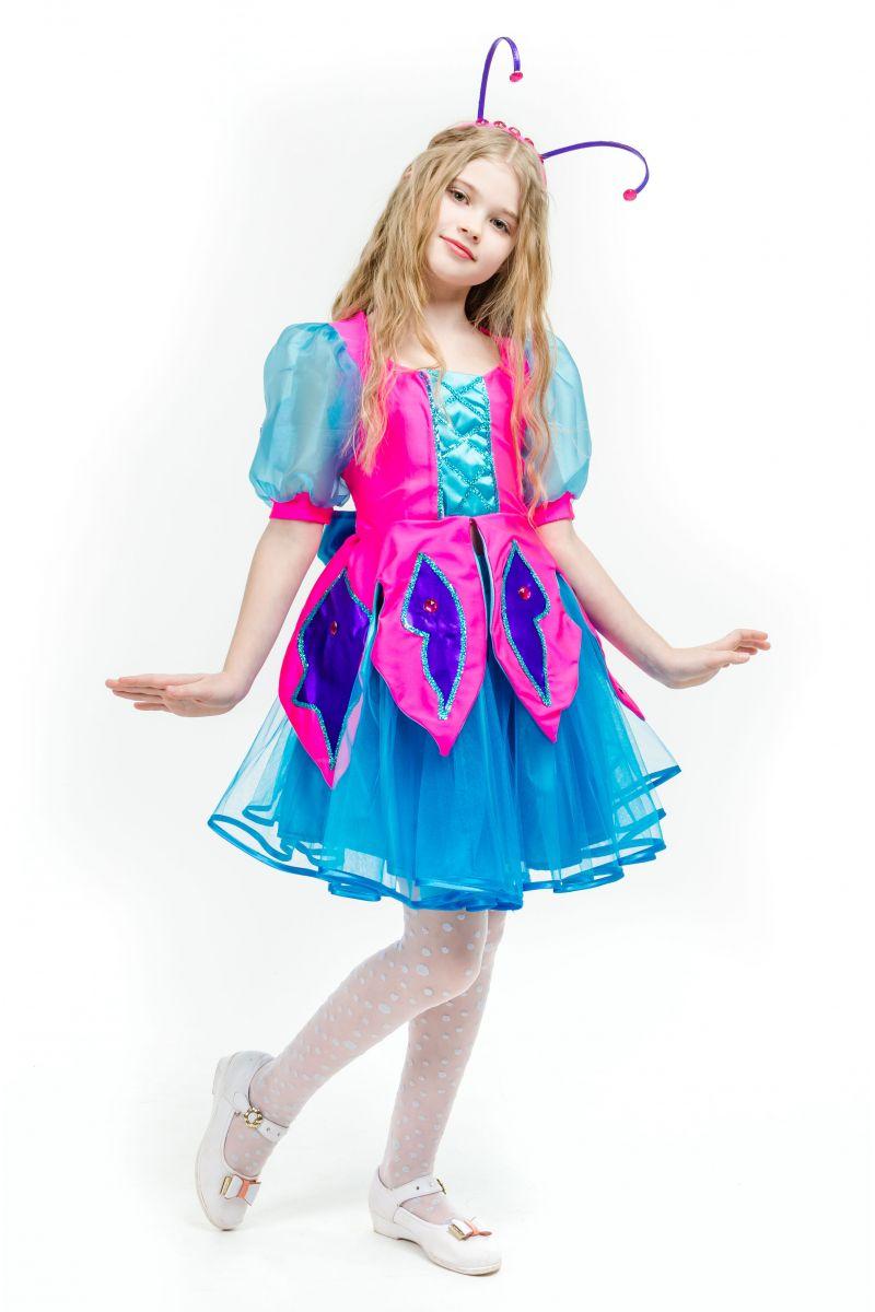 Масочка - Бабочка «Волшебница» карнавальный костюм для девочки / фото №1630