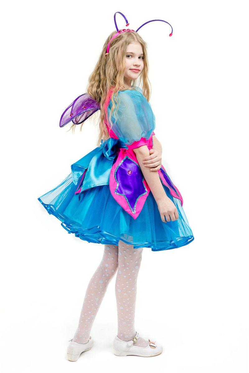 Масочка - Бабочка «Волшебница» карнавальный костюм для девочки / фото №1632