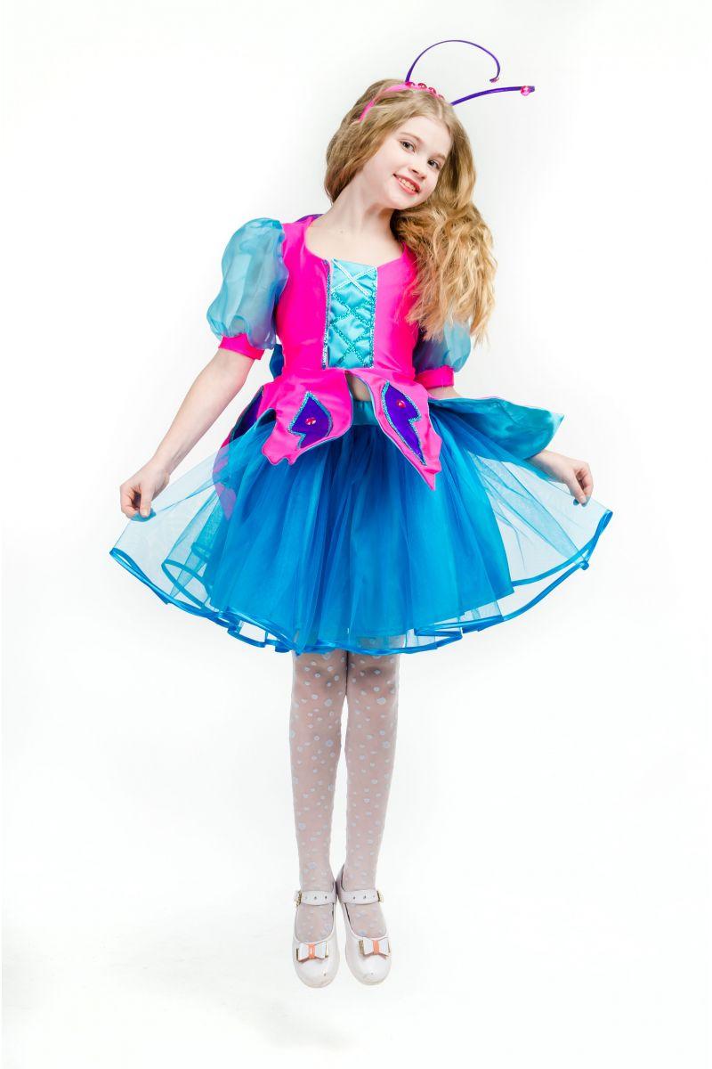 Масочка - Бабочка «Волшебница» карнавальный костюм для девочки / фото №1633