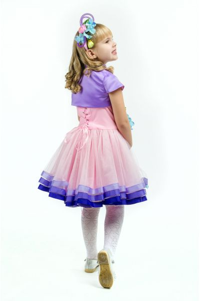 Весна «Розовая дымка» карнавальный костюм для девочки