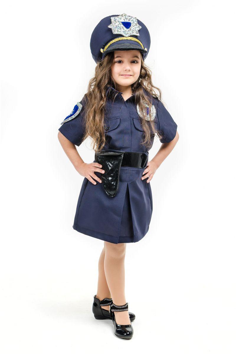 Масочка - «Полицейская девочка» карнавальный костюм для девочки / фото №1639