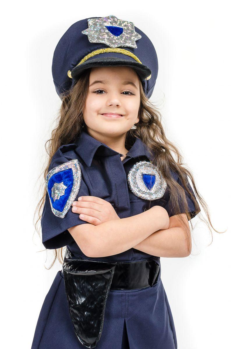 Масочка - «Полицейская девочка» карнавальный костюм для девочки / фото №1641