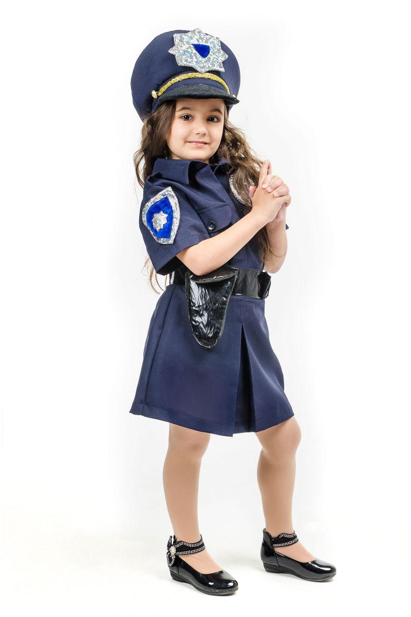 Масочка - «Полицейская девочка» карнавальный костюм для девочки / фото №1642