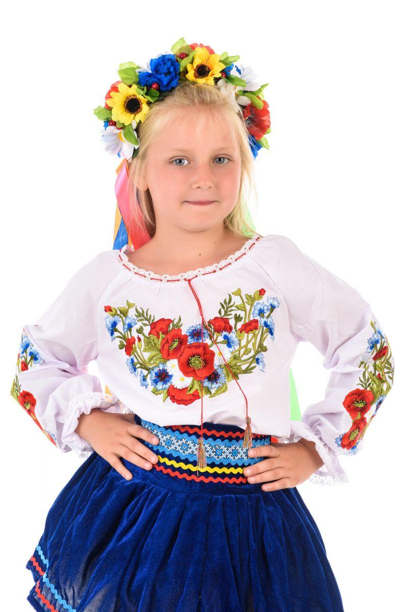 Масочка - Украинка «Слобожаночка» национальный костюм для девочки / фото №1644