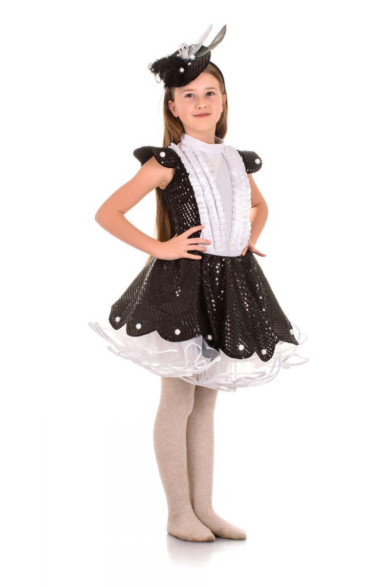«Сорока-белобока» карнавальный костюм для девочки