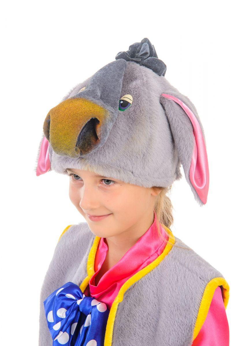 Масочка - «Ослик Иа» карнавальный костюм для мальчика / фото №1655