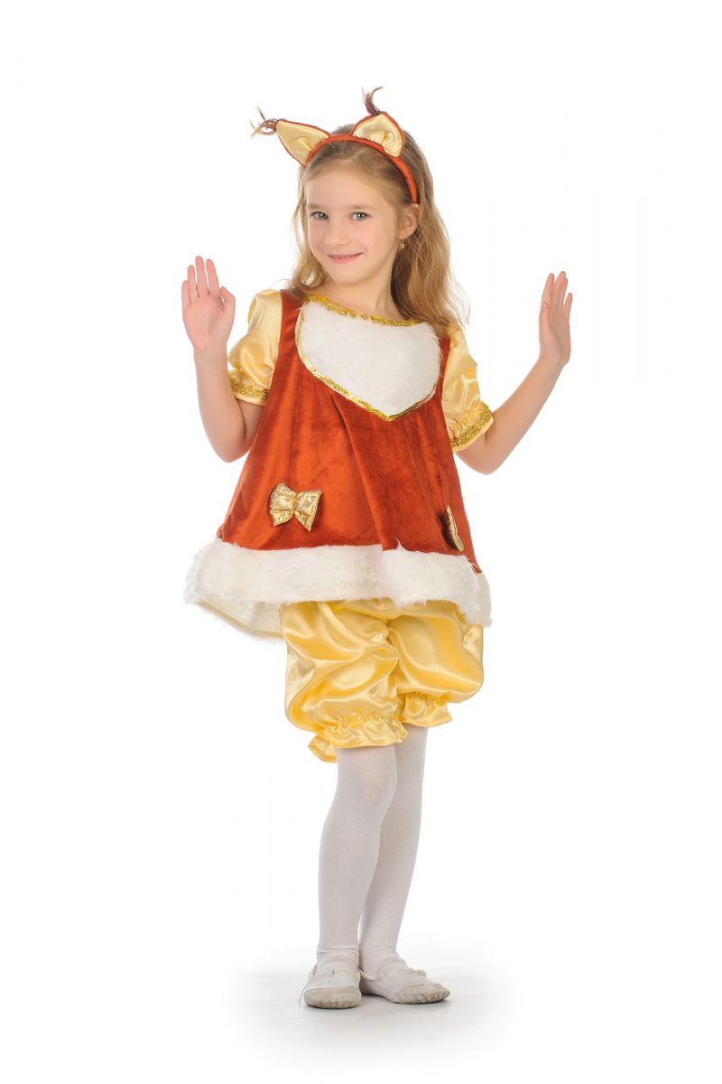 Масочка - Белочка «Малышка» карнавальный костюм для девочки / фото №1657