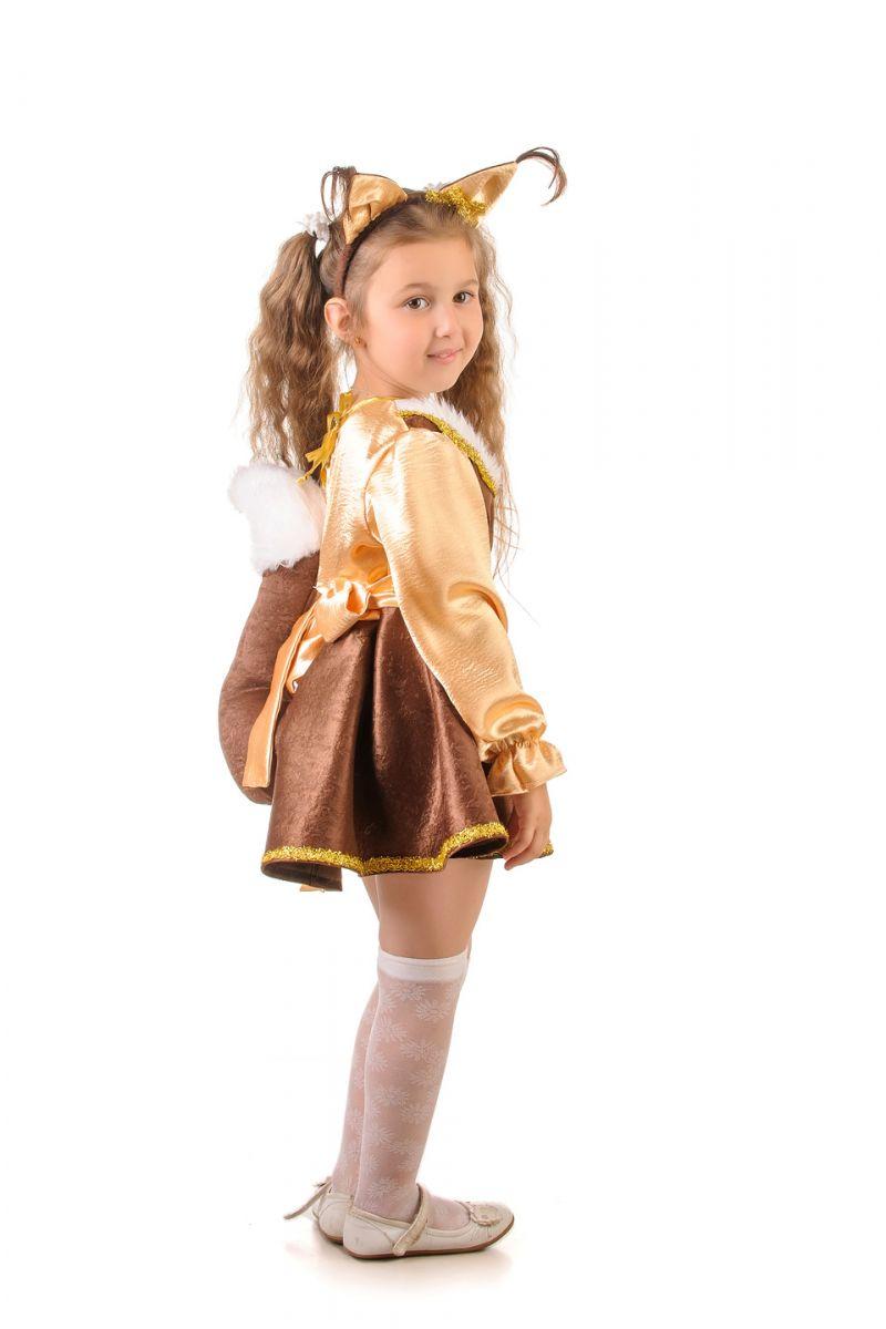 Масочка - Белка «Озорная» карнавальный костюм для девочки / фото №1659