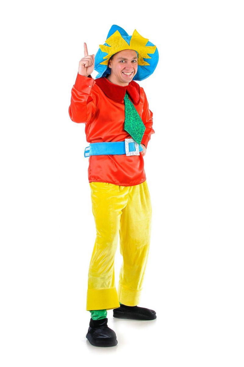 Незнайка «Классика» карнавальный костюм для взрослых