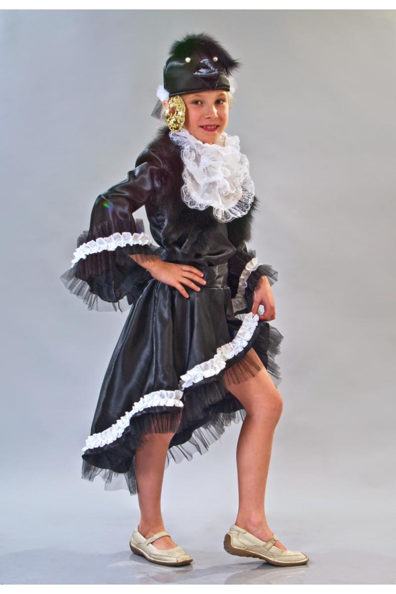 «Сорока-ворона» карнавальный костюм для девочки