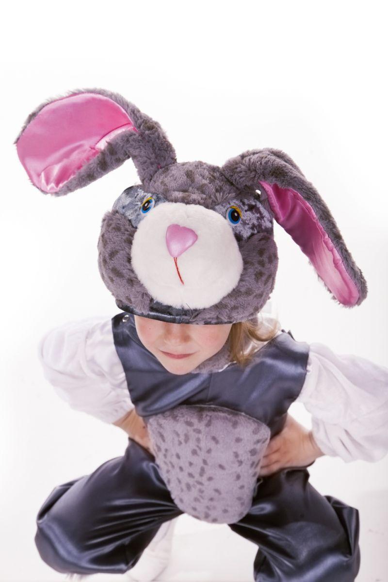 Масочка - Заяц «Серенький» карнавальный костюм для детей / фото №1676