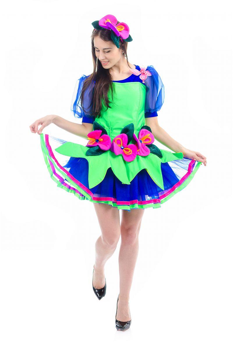 Масочка - Фея «Орхидея» карнавальный костюм для взрослых / фото №1683