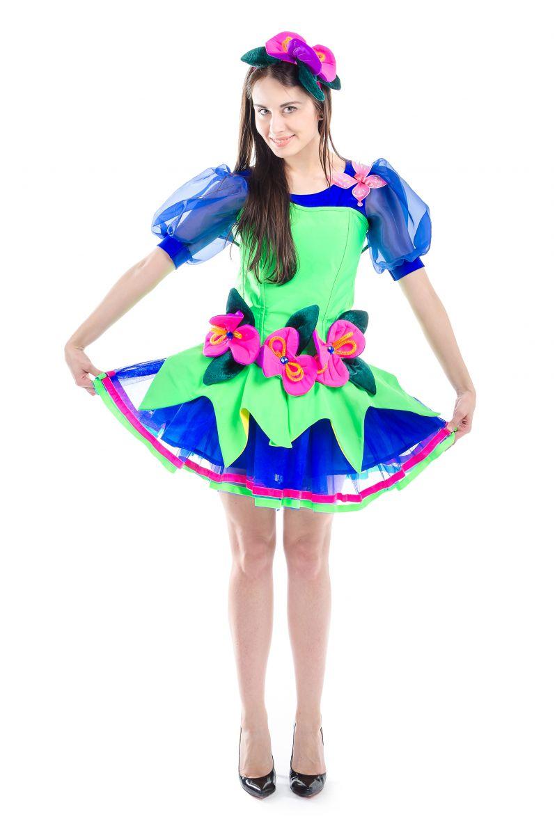 Масочка - Фея «Орхидея» карнавальный костюм для взрослых / фото №1684