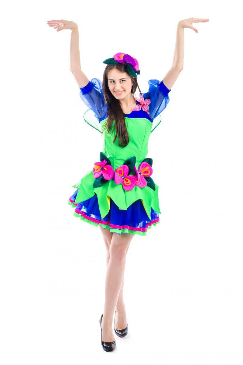 Масочка - Фея «Орхидея» карнавальный костюм для взрослых / фото №1685