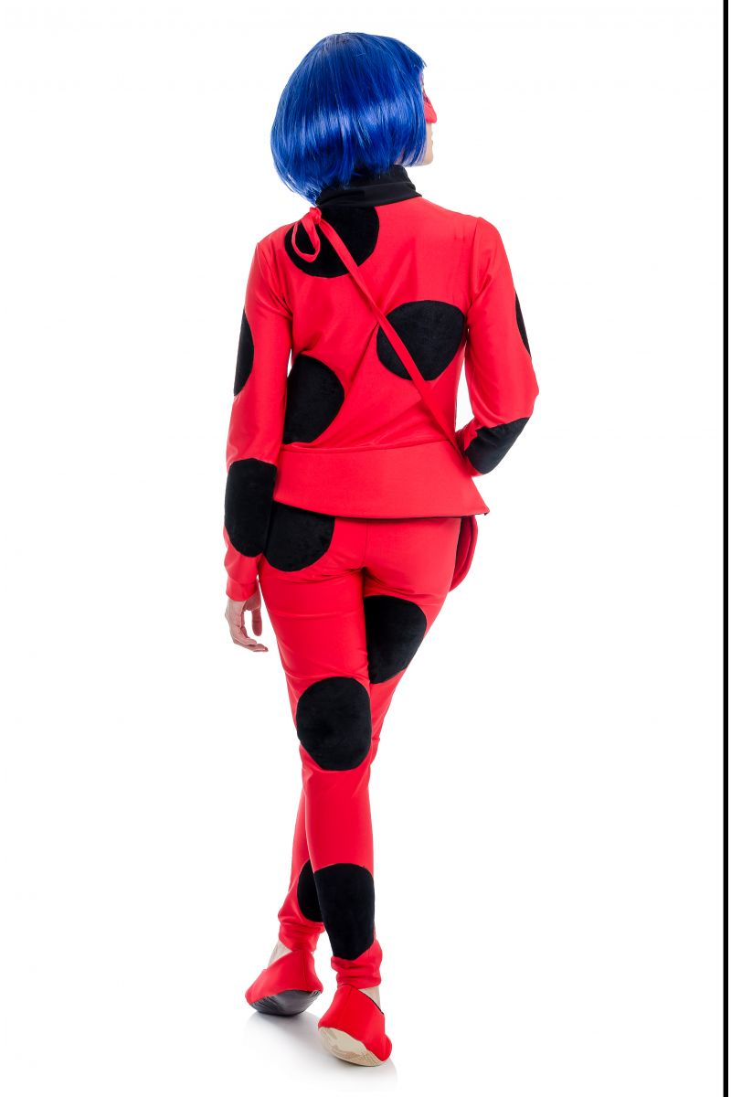 Масочка - « Леди Баг » карнавальный костюм для взрослых / фото №1708