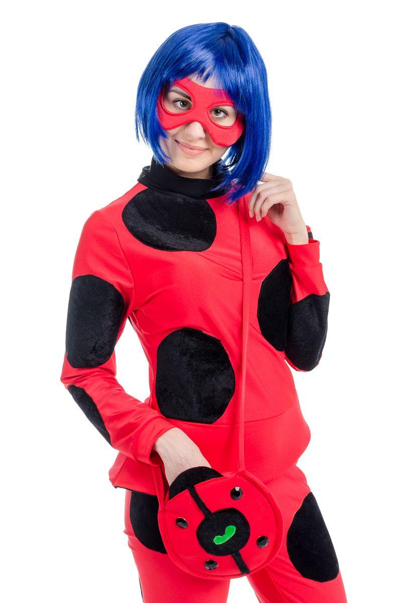Масочка - « Леди Баг » карнавальный костюм для взрослых / фото №1709