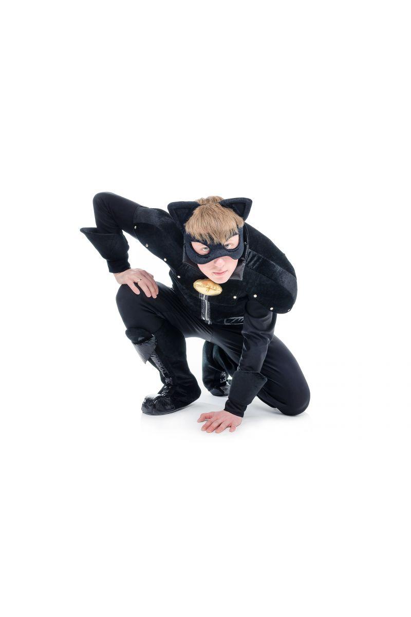 Масочка - « Супер Кот » карнавальный костюм для взрослых / фото №1712