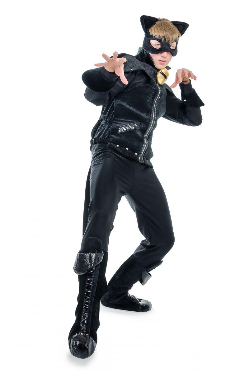 Масочка - « Супер Кот » карнавальный костюм для взрослых / фото №1713