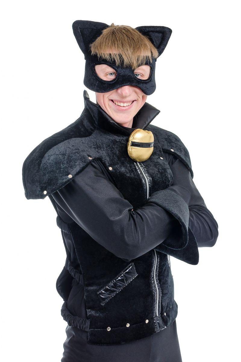 Масочка - « Супер Кот » карнавальный костюм для взрослых / фото №1717
