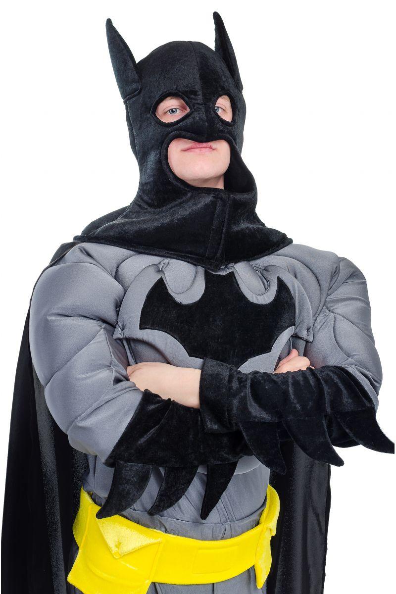 Масочка - « Бэтмен » карнавальный костюм для взрослых / фото №1721