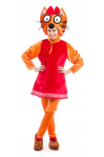 Кошечка «Карамелька» карнавальный костюм для взрослых