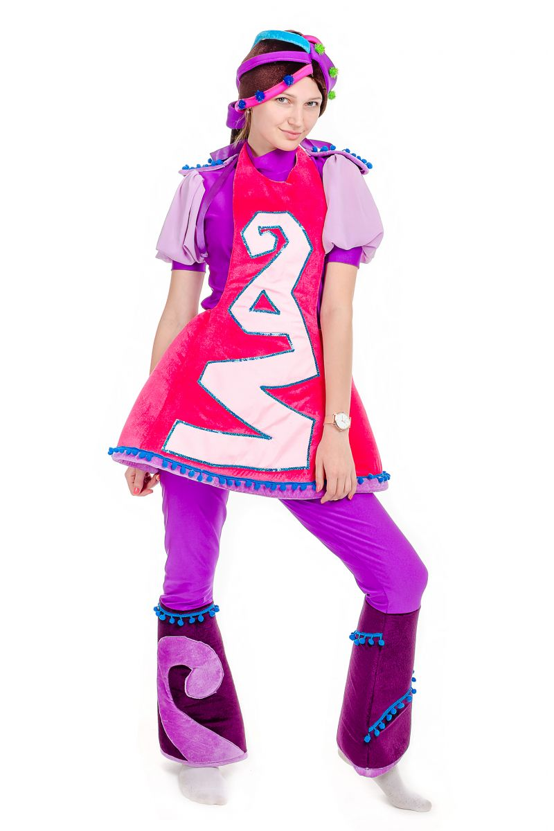 Масочка - Варя «Сказочный патруль» карнавальный костюм для аниматора / фото №1766