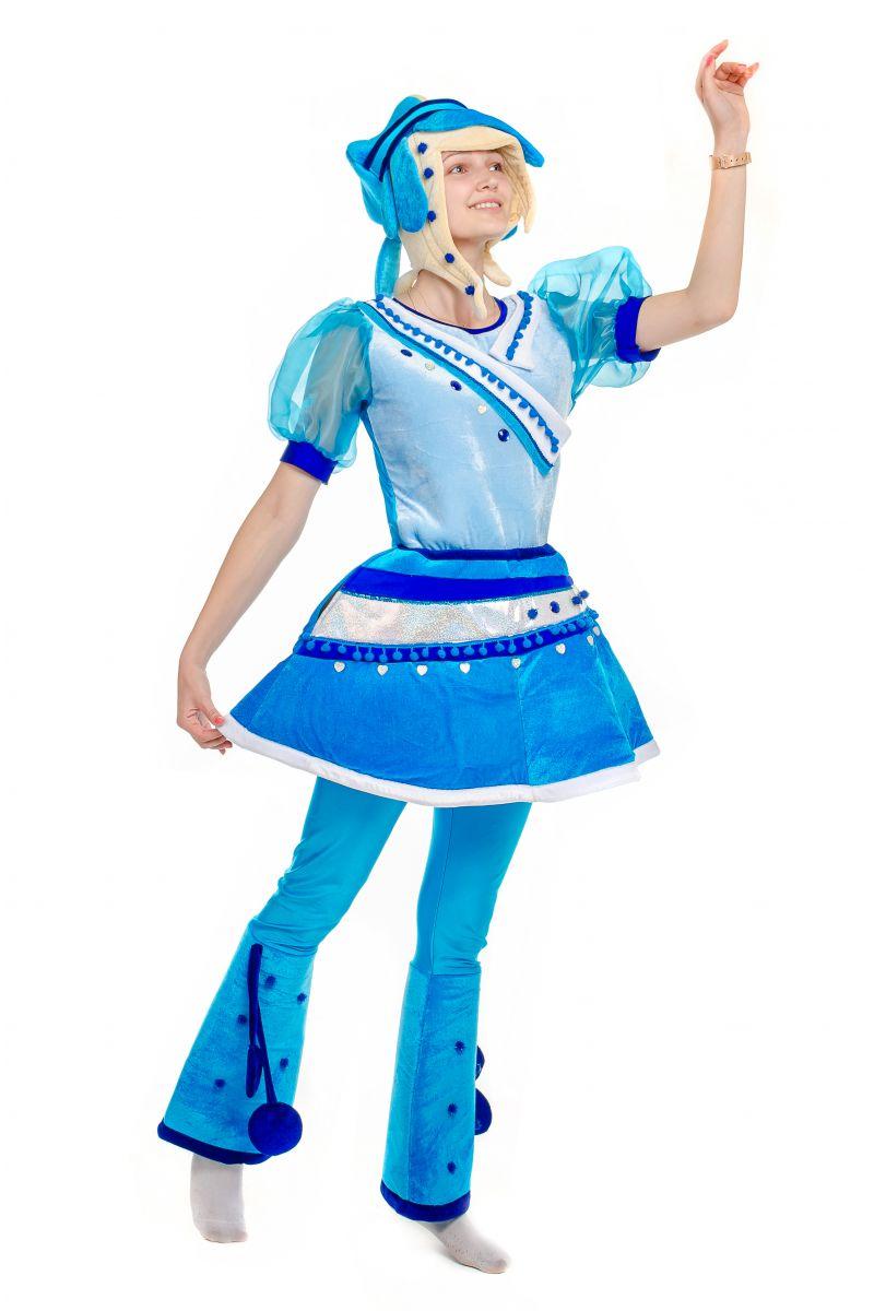 Масочка - Снежка «Сказочный патруль» карнавальный костюм для аниматора / фото №1770