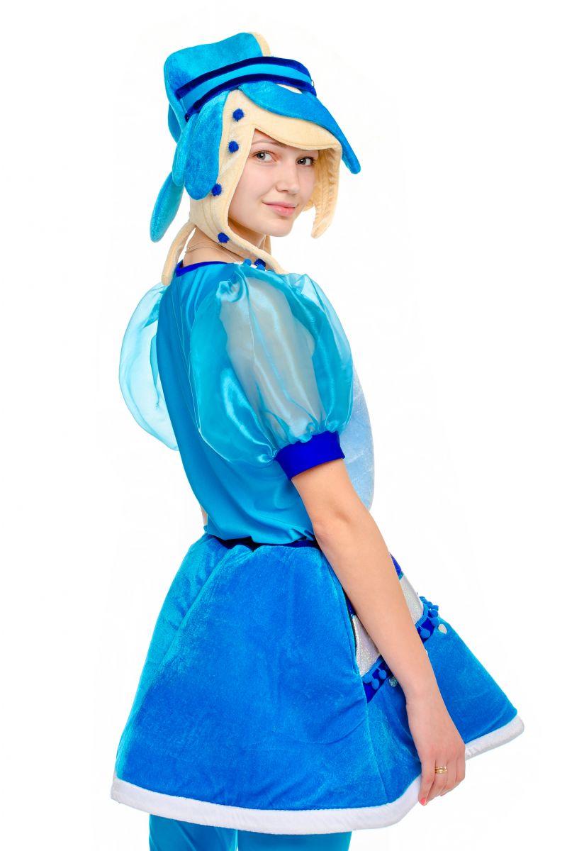 Масочка - Снежка «Сказочный патруль» карнавальный костюм для аниматора / фото №1772
