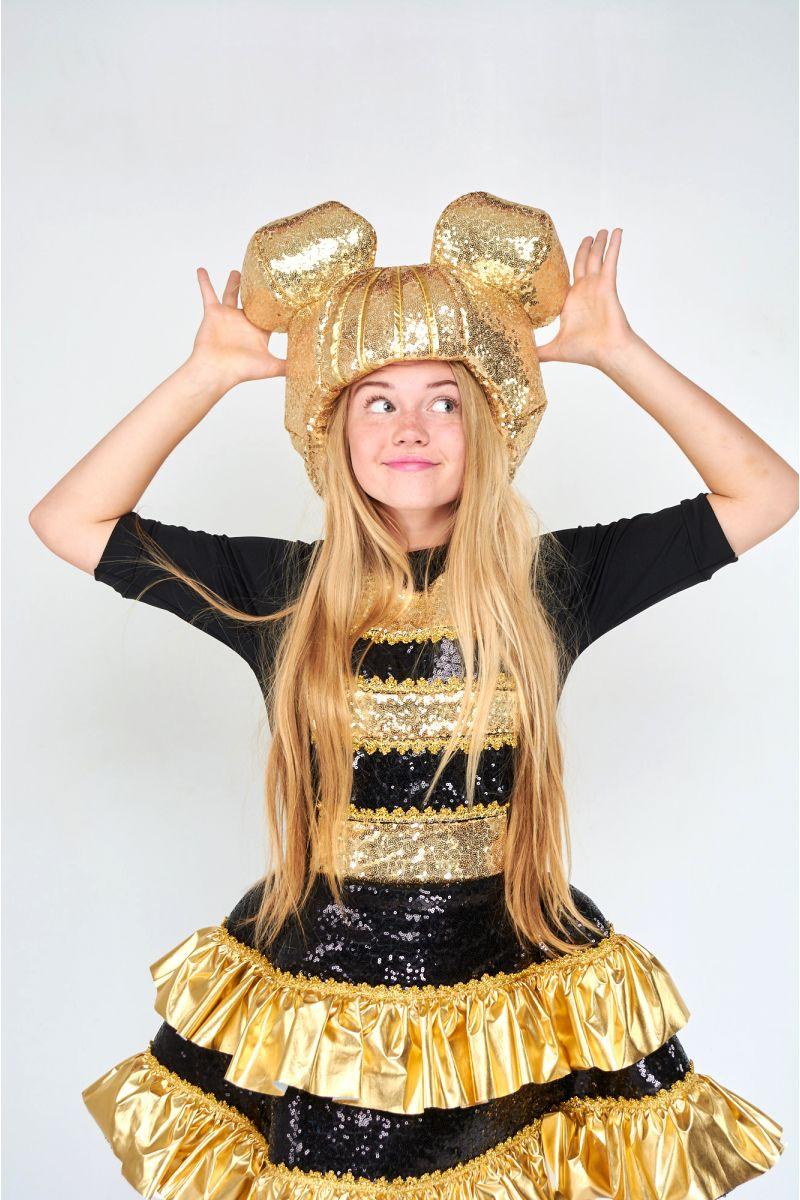 Масочка - Кукла LOL «Королева Пчелка (Queen Bee)» карнавальный костюм для аниматоров / фото №1801