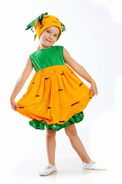 «Морковка» карнавальный костюм для девочки