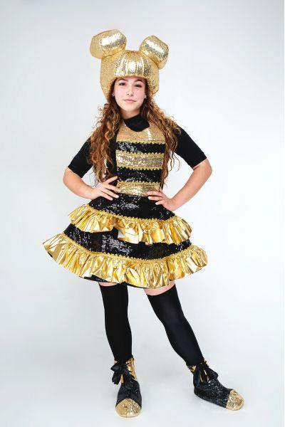 Кукла LOL «Королева Пчелка (Queen Bee)» карнавальный костюм для аниматоров