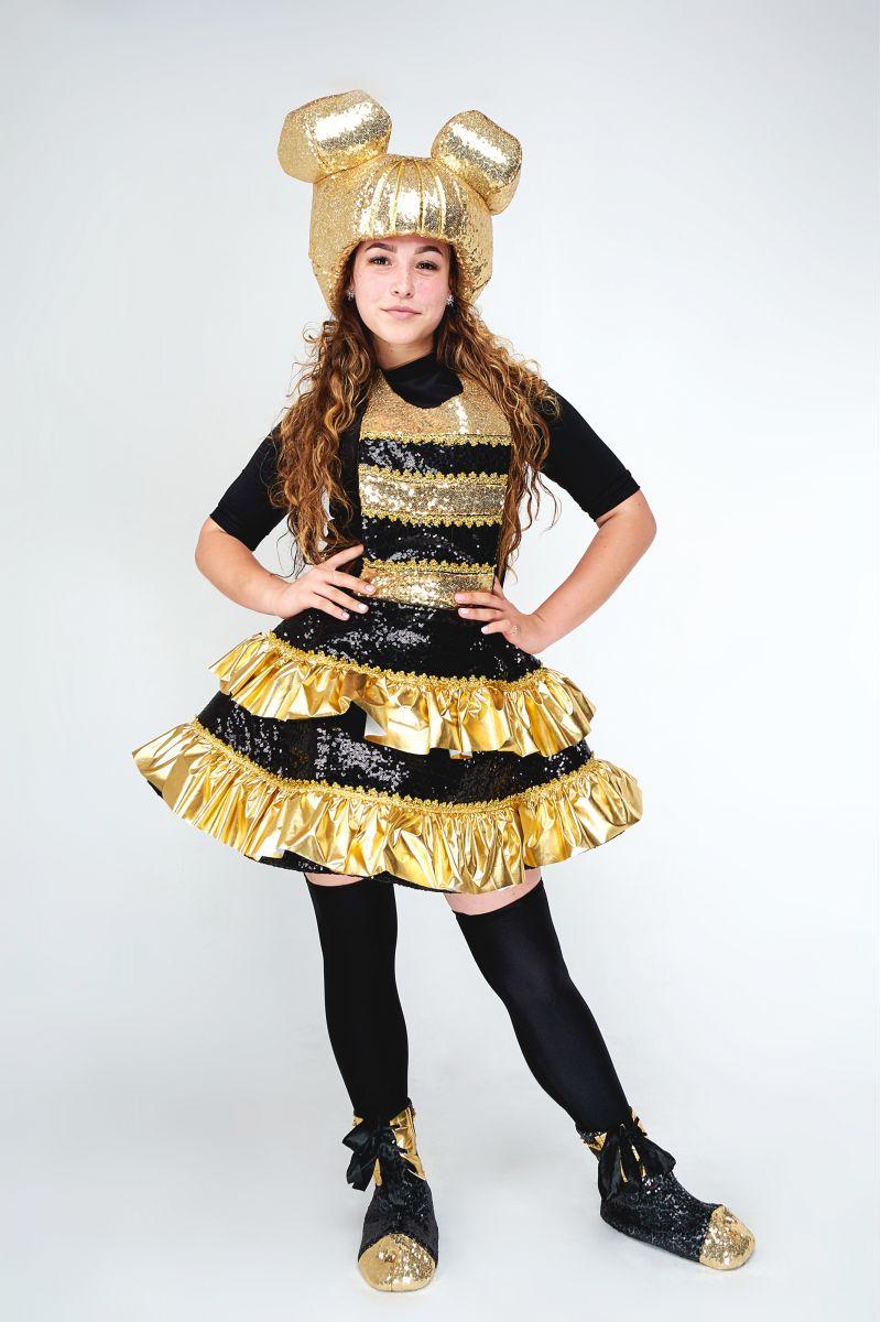 Масочка - Кукла LOL «Королева Пчелка (Queen Bee)» карнавальный костюм для аниматоров / фото №1827