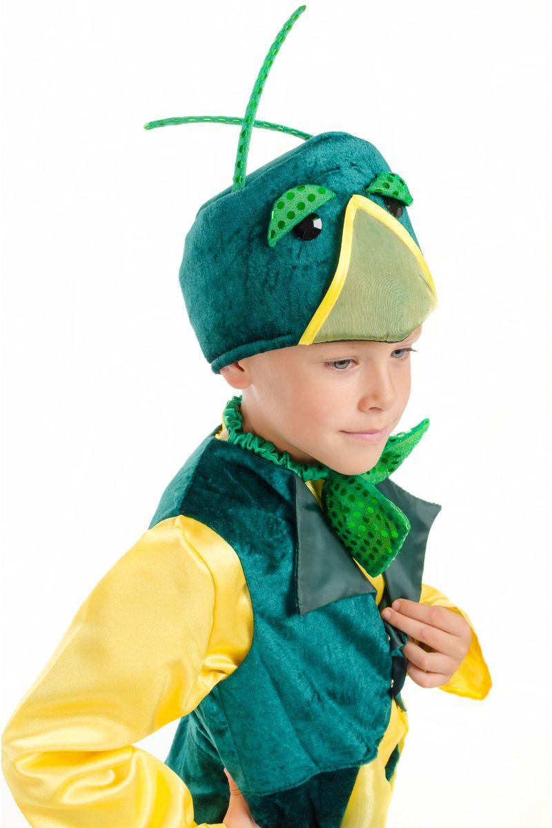 Масочка - «Кузнечик» карнавальный костюм для мальчика / фото №1832