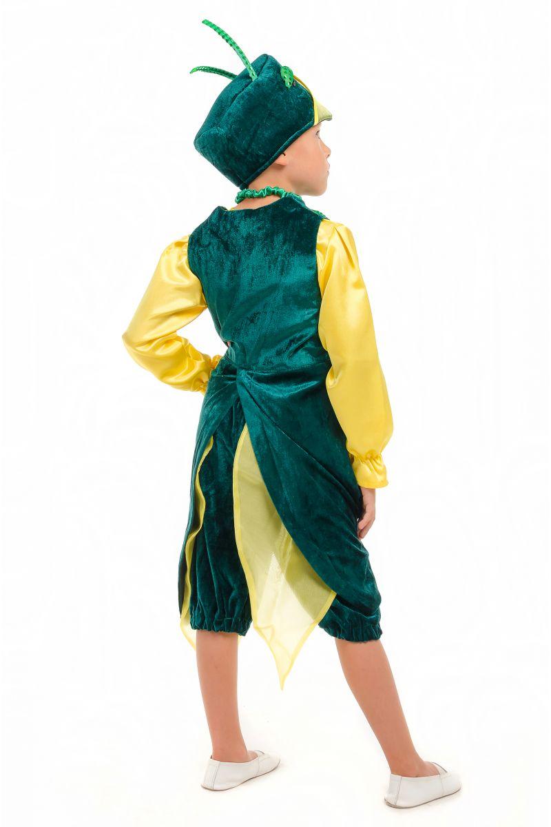 Масочка - «Кузнечик» карнавальный костюм для мальчика / фото №1835