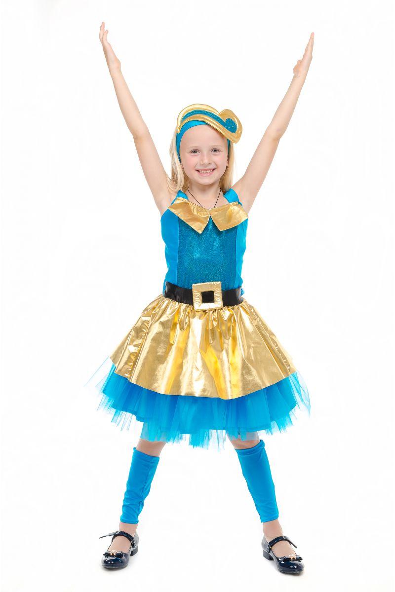 Масочка - Кукла LOL «Леди Голд Luxe» карнавальный костюм для девочки / фото №1837