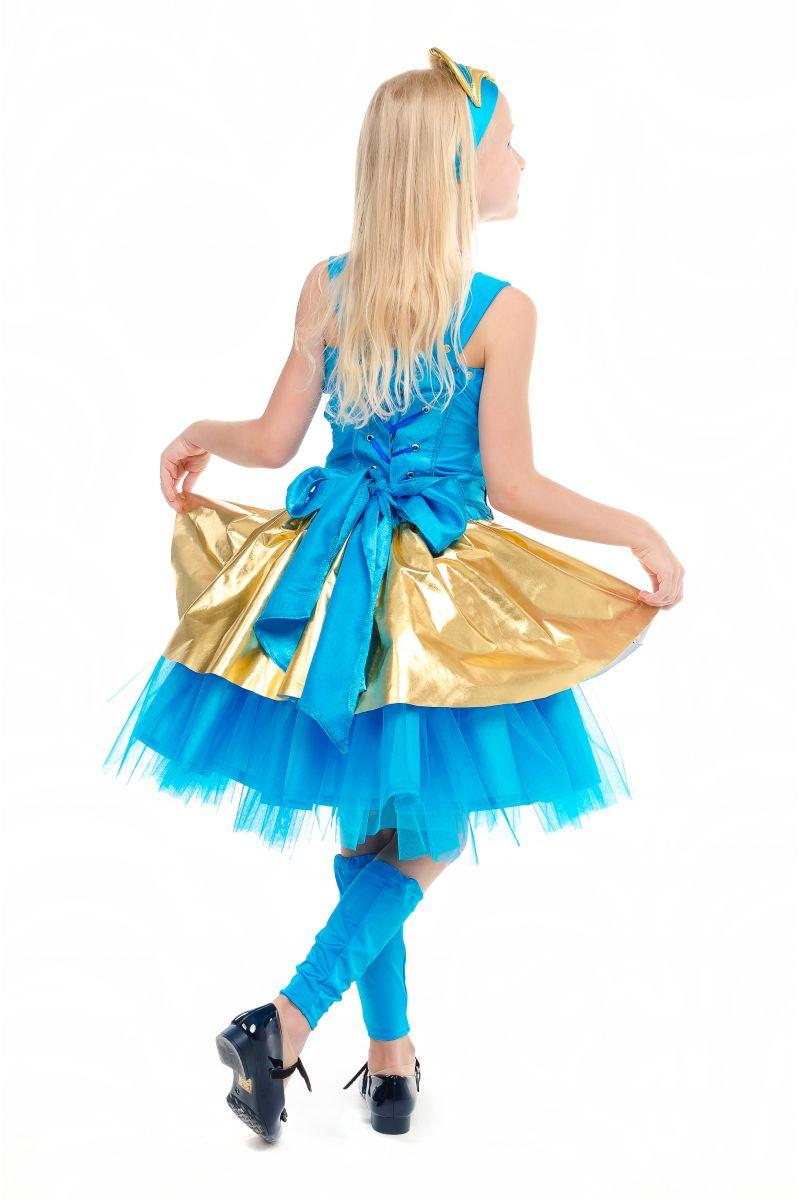 Масочка - Кукла LOL «Леди Голд Luxe» карнавальный костюм для девочки / фото №1842