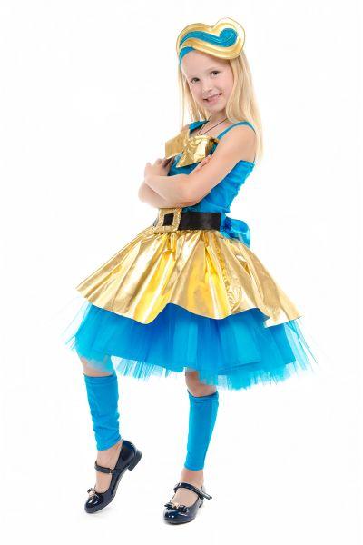 Кукла LOL «Леди Голд Luxe» карнавальный костюм для девочки