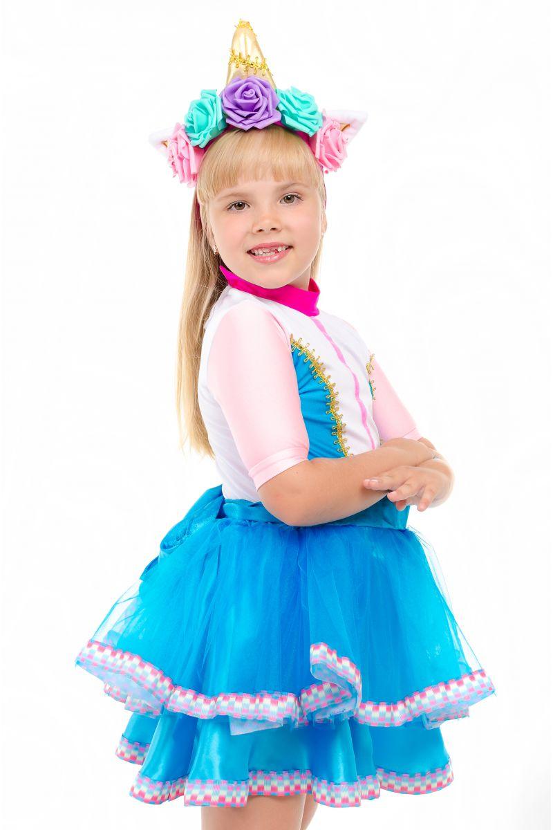 Масочка - Кукла LOL «Единорожка Unicorn» карнавальный костюм для девочки / фото №1852