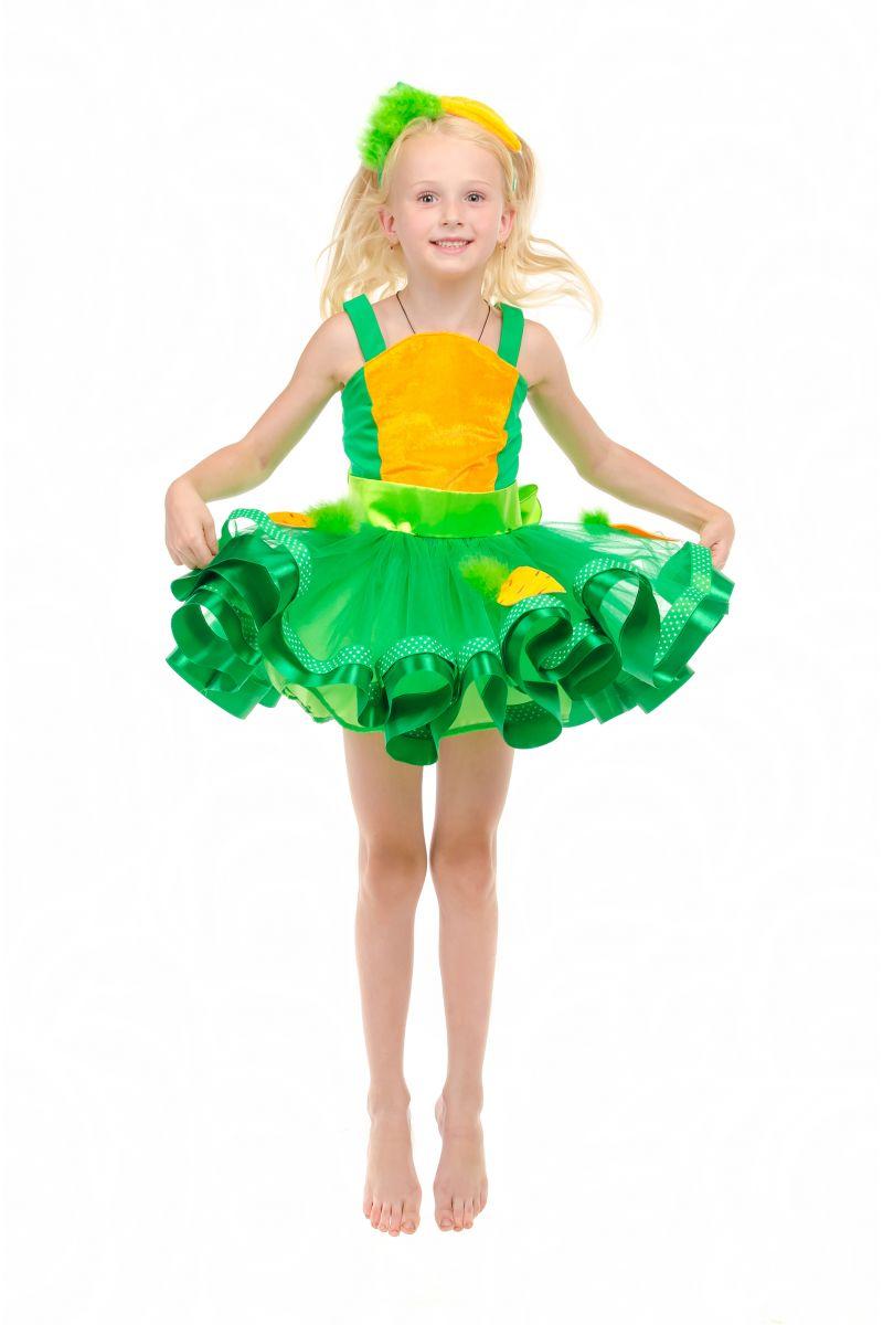 Морковка «Модница» карнавальный костюм для девочки
