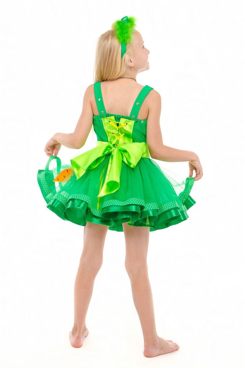 Масочка - Морковка «Модница» карнавальный костюм для девочки / фото №1861