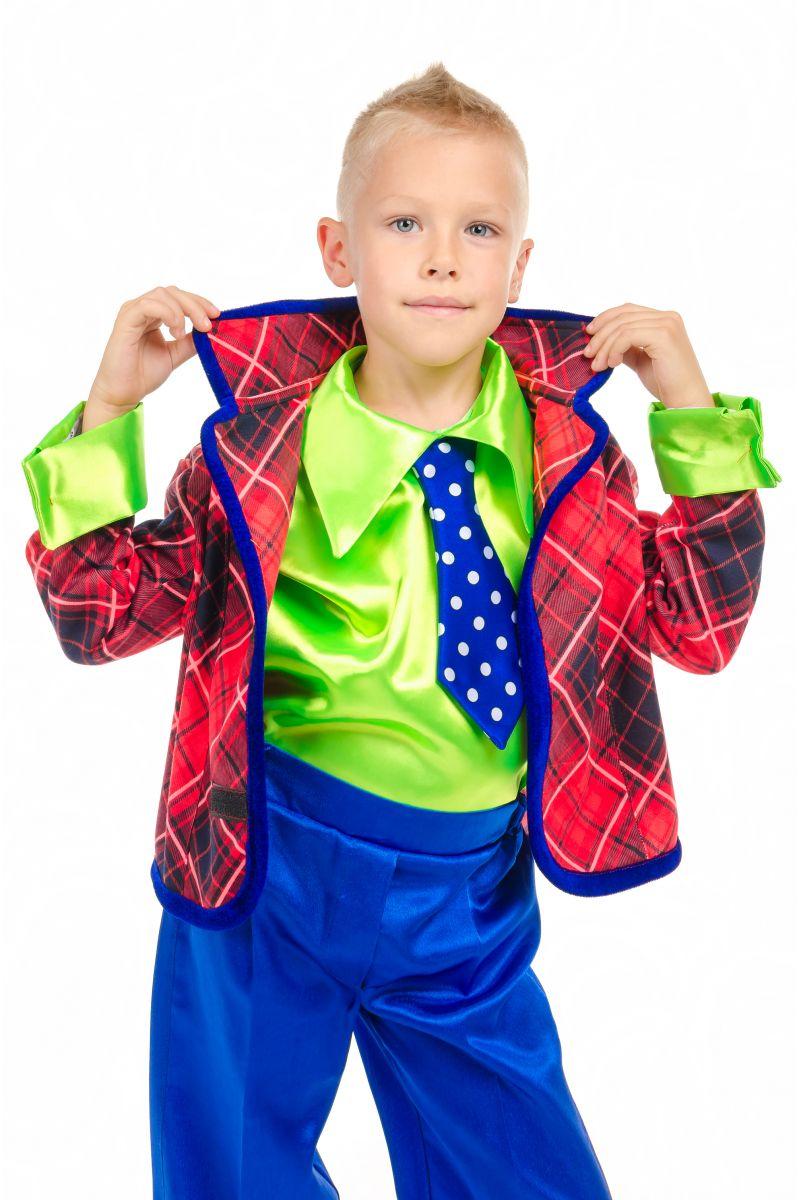 Масочка - «Стиляга в пиджаке» карнавальный костюм для мальчика / фото №1873