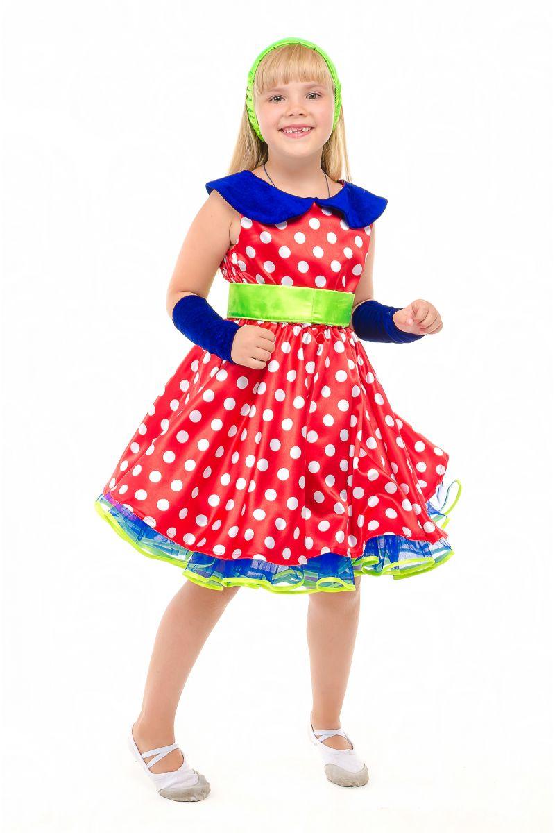 Масочка - «Стиляга» карнавальный костюм для девочки / фото №1880