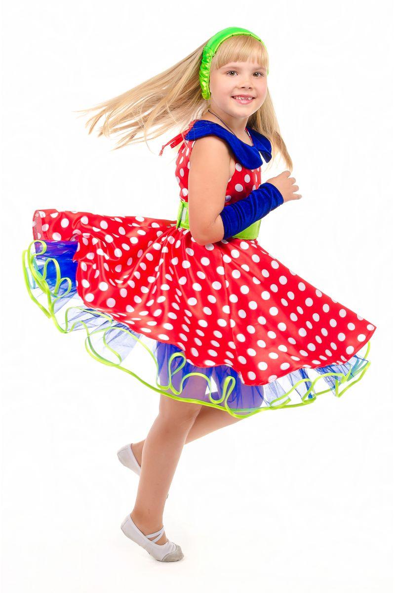 Масочка - «Стиляга» карнавальный костюм для девочки / фото №1882