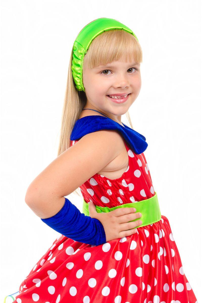 Масочка - «Стиляга» карнавальный костюм для девочки / фото №1883