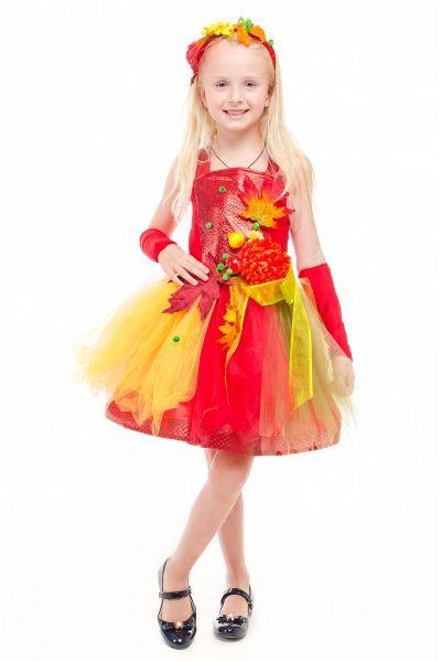 Осень «Очаровашка» карнавальный костюм для девочки