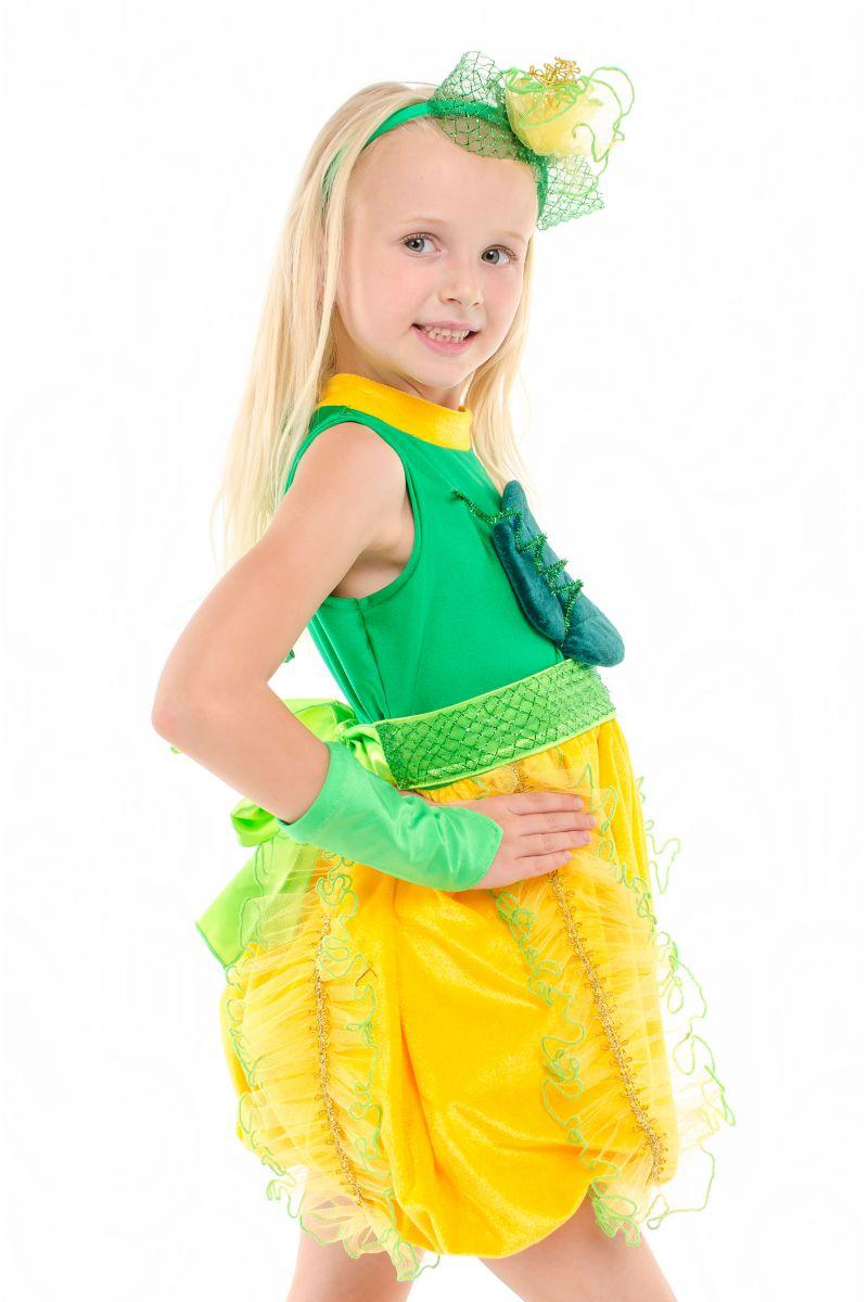 Масочка - «Дынька» карнавальный костюм для девочки / фото №1910