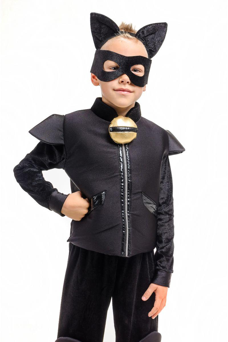 Масочка - «Супер Кот» карнавальный костюм для мальчика / фото №1913