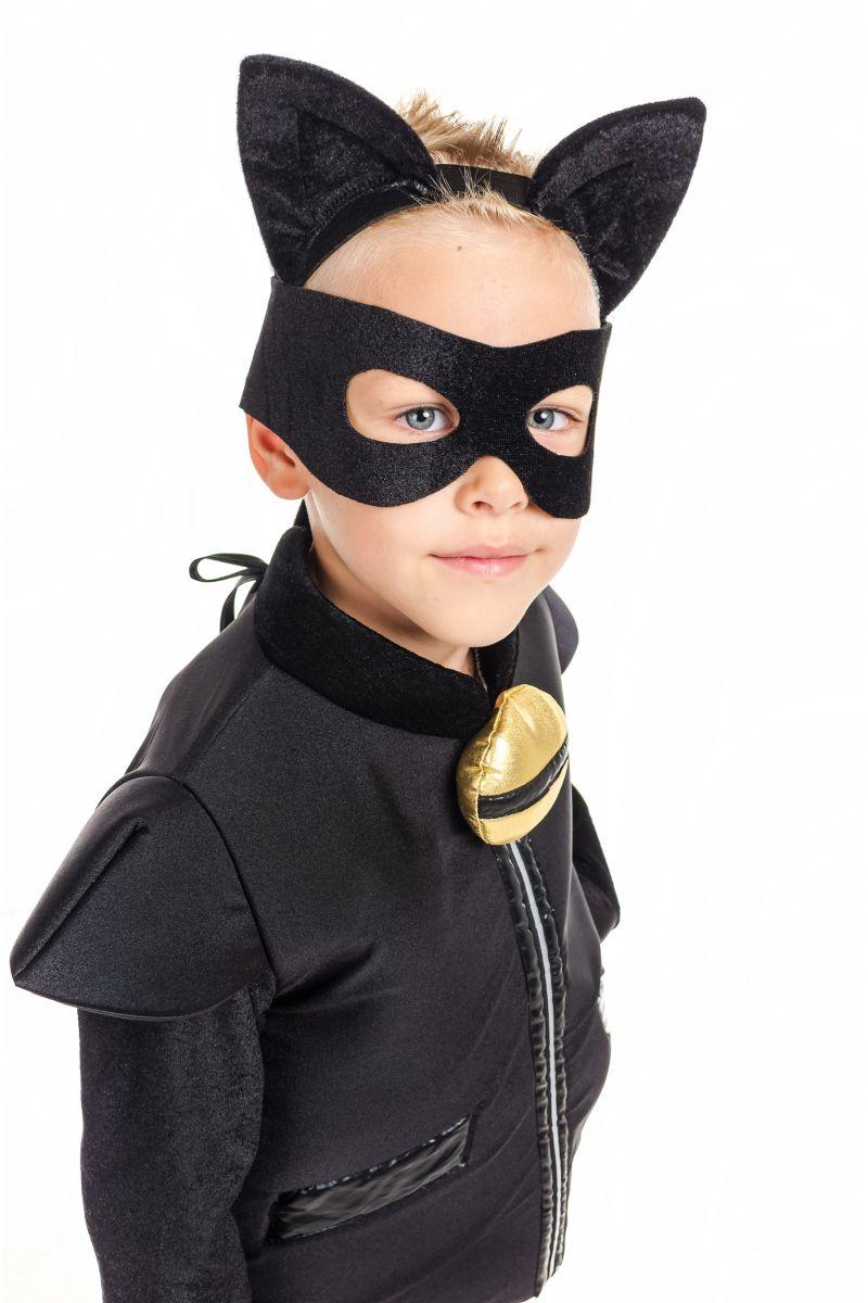 Масочка - «Супер Кот» карнавальный костюм для мальчика / фото №1915